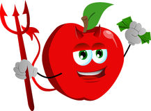 Rich devil apple Royalty Free Stock Photos