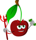 Rich devil cherry Royalty Free Stock Photo