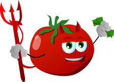 Rich devil tomato Royalty Free Stock Photos