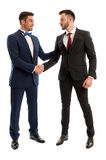Rich and elegant business people Stock Image
