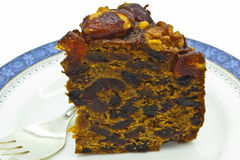 Rich fruit cake. Stock Images
