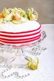 Rich fruit Christmas cake Stock Photos