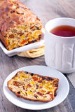 Rich fruit and nut cake Stock Photography