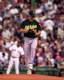 Rich Harden, Oakland A's pitcher. Royalty Free Stock Photography