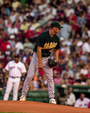 Rich Harden, Oakland A's pitcher. Royalty Free Stock Image