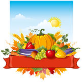 Rich harvest Royalty Free Stock Images