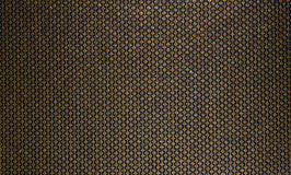 Free Rich, Honey Texture For Fabric And Wallpaper. Gold Lines Patterns With Diamonds On A Black Background Stock Photo - 64737990