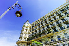 Rich hotel building in Nice, Cote-d-Azur Stock Image