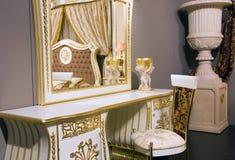 Rich interior. Rich furniture in an interior Stock Photos