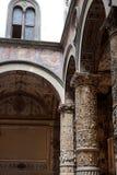 Rich Interior of Palazzo Vecchio (Old Palace) a Massive Romanesq Royalty Free Stock Photos
