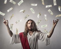 Rich Jesus royalty free stock photos