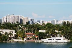 Rich Life in Miami Royalty Free Stock Photography
