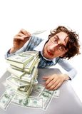 Rich man Stock Photo