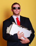 Rich man Royalty Free Stock Image