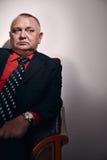 Rich man portrait Stock Photography