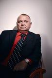 Rich man portrait Stock Image