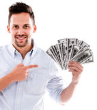 Rich man Royalty Free Stock Images