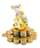 The rich mouse Stock Photo