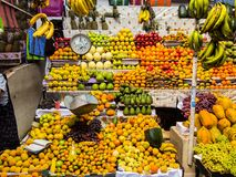 The rich offer of fruit at the market Areqipa Peru Royalty Free Stock Image