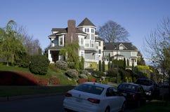 Rich people neighborhood Stock Photography