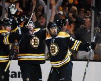 Rich Peverley, Boston Bruins in avanti Fotografie Stock