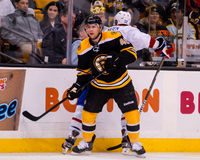 Rich Peverley, Boston Bruins forward. Royalty Free Stock Images