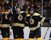 Rich Peverley Boston Bruins framåtriktat Arkivbild