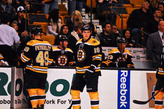 Rich Peverley and Tyler Seguin Boston Bruins Royalty Free Stock Image