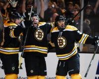 Rich Peverley, voorwaartse Boston Bruins Stock Fotografie