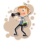 Rich photographer Stock Photo