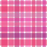 Rich pink checkered background Stock Photos