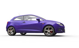 Rich Purple Car Stock Photos