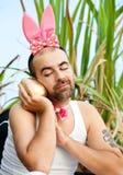 Rich Rabbit Royalty Free Stock Image
