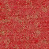Rich red Christmas crackle background Stock Images