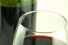 Rich red wine Stock Photography