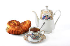 Rich rolls. Good addition to tea for a breakfast Stock Images