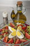 Rich salad Stock Photography