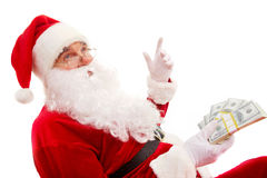 Rich Santa Stock Photography