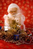 Rich Santa Claus Royalty Free Stock Photo