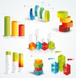 Rich set Infographic Design. Stock Photo