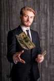 Rich and successful. Stock Images