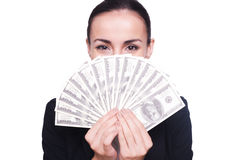 Rich and successful. Royalty Free Stock Photo