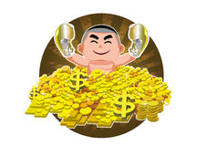 Rich and successful man Royalty Free Stock Image