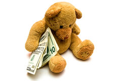Rich Teddy Bear Stock Images