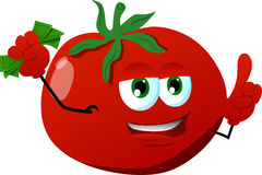 Rich tomato with attitude Royalty Free Stock Photography