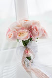 Rich wedding bouquet of Peony roses Royalty Free Stock Photos