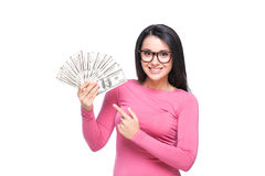 Rich woman Royalty Free Stock Photography