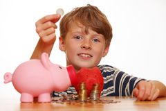 Rich young boy Royalty Free Stock Photography