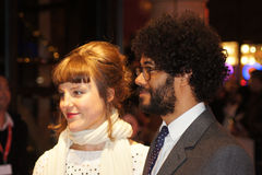 Richard Ayoade an der Unterwasserpremiere Stockfotos
