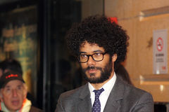Richard Ayoade At The Submarine Premiere. LONDON - October 22: Richard Ayoade At The Submarine Premiere October 22, 2010 in Leicester Square London, England Royalty Free Stock Photo